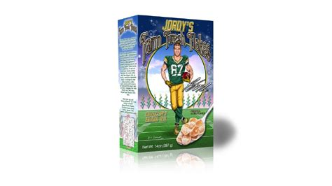 jordy nelson cereal jordy nelson introduces breakfast cereal wluk