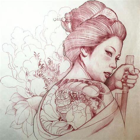 japanese geisha tattoo tumblr 59 best images about geisha tattoo on pinterest japanese