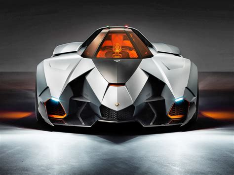 Egoist Lamborghini Lamborghini Egoista Concept 2013 Supercar Cg