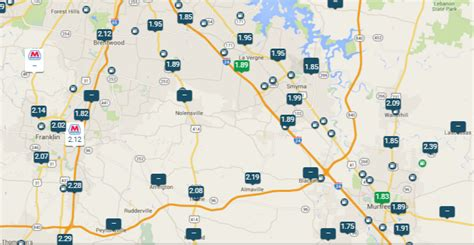 Rutherford County Records Rutherford County Gas Prices 3 7 2016 The Rutherford Source