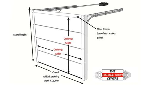 Garage Door Sizes Guide Up And Over Doors Roller Standard Single Garage Door Size