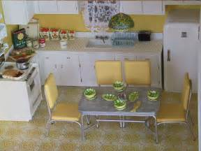50s kitchen ideas 50s kitchen in a breadbox made the fridge stove and