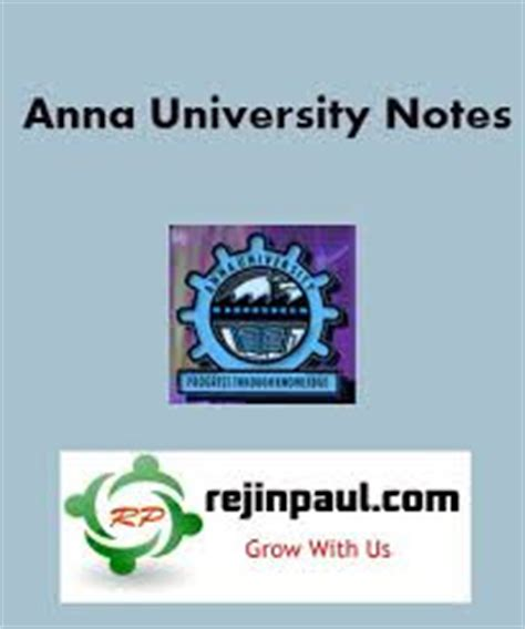 Mba Syllabus Regulation 2013 by Notes Regulation 2013 2008 1st 2nd 3rd