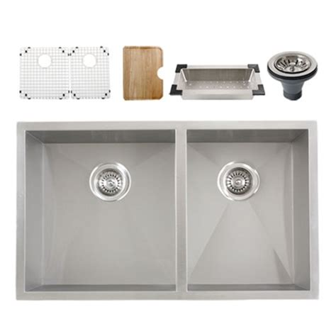 kitchen sink accessories ticor s3540 undermount 16 gauge stainless steel kitchen