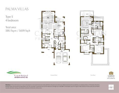 arabian ranches floor plans arabian ranches palma floor plans