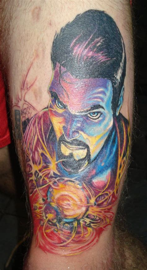weird tattoos doctor strange by bobross2 for g