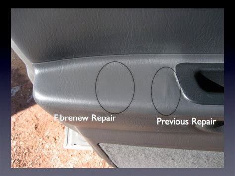 Vinyl Upholstery Repair by Automotive Repair Gallery Fibrenew Of Colorado Springs