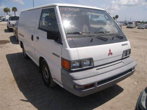 mitsubishi van 1988 1988 mitsubishi minivan information and photos momentcar