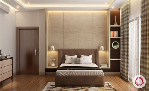 bedroom niche recessed wall niche ideas for modern indian homes