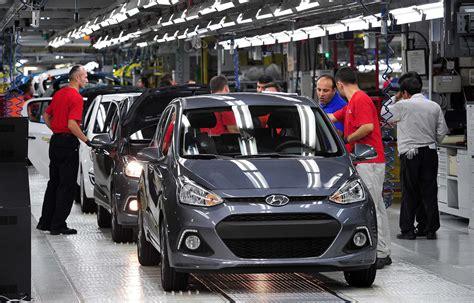 hyundai manufacturing plant hyundai motor manufacturing plant in turkey produces 1