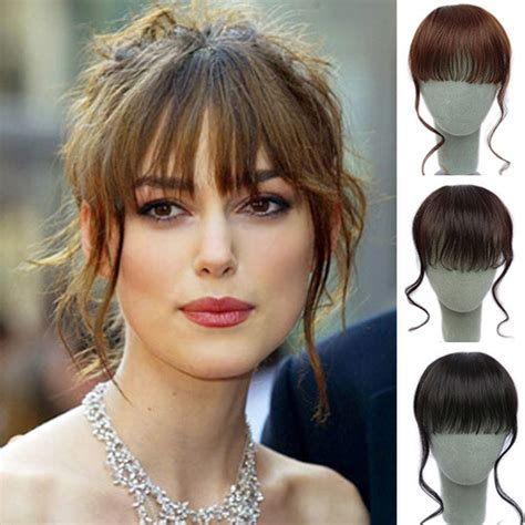 hair piecis and bangs cheap bangs hairpieces flimsy curly fringe with wavy