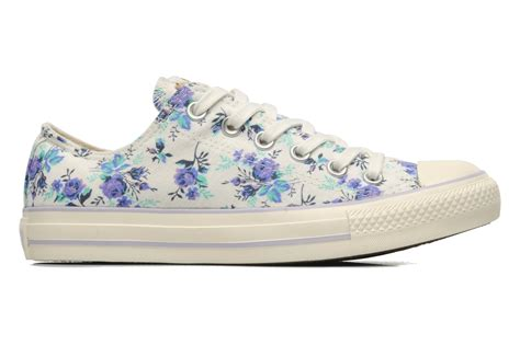 chuck all floral print ox w by converse multicolor sarenza uk your trainers