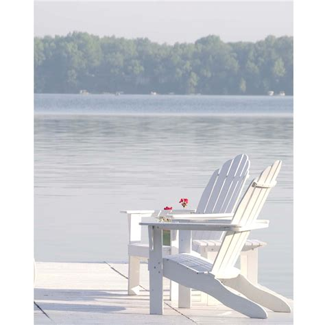 Adirondack Chair White by Roomations Summer Essentials Adirondack Chairs