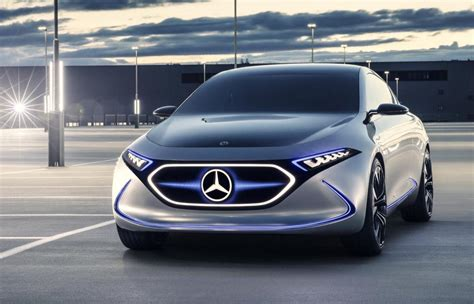 mercedes concept mercedes previews future small ev with eqa concept