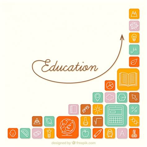education wallpaper background free education icons background vector free download