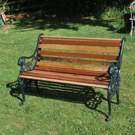 small iron bench antiques atlas small cast iron garden bench