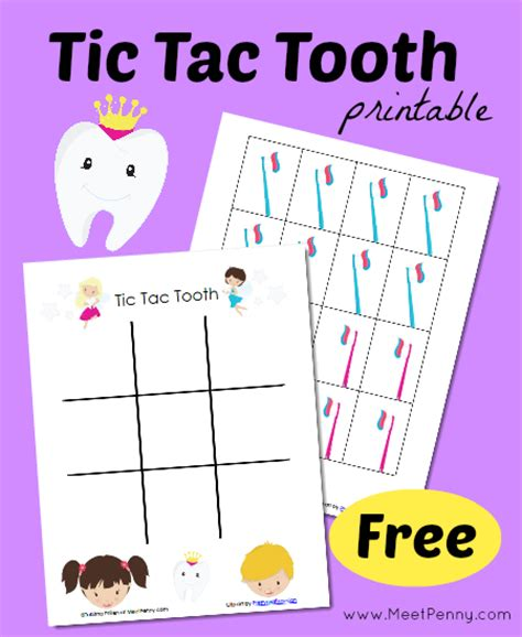 printable dental games for adults free tic tac tooth game printables free homeschool deals