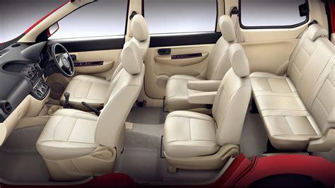 mpv car interior chevrolet enjoy mpv interior space