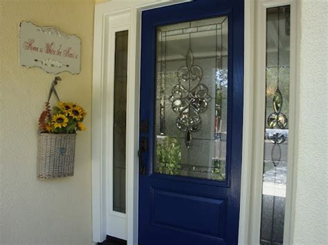 Royal Blue Front Door Royal Blue Front Door Is So Cool A Beautiful Mess
