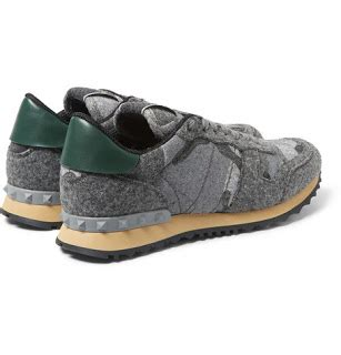 Valentino Studed Shoes 2 Premium 2 felted for fall valentino studded camouflage felt