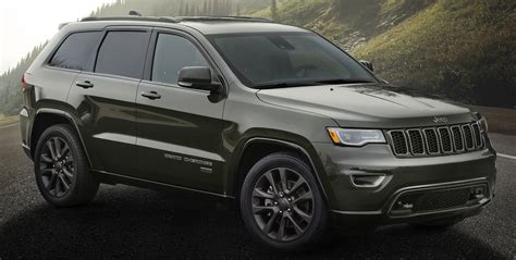 tan jeep grand cherokee jeep 75th anniversary special edition models unveiled paul