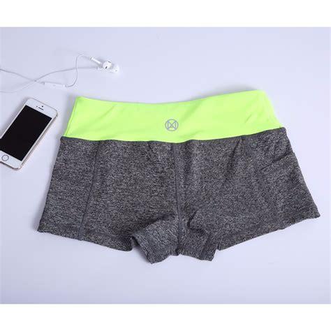 Celana Pendek Sport Wanita celana pendek olahraga wanita sport fitness running shorts