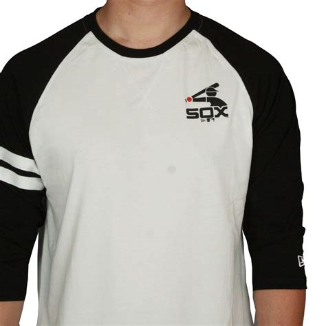 Kaos T Shirt Chicago White Sox new era and mlb raglan t shirt chicago white sox ebay