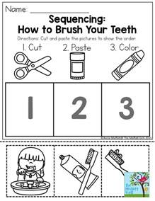 sequencing how to brush your teeth such a simple and