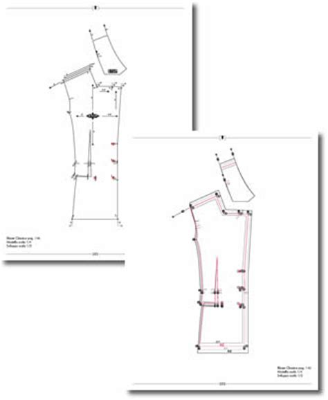 pattern grading raglan architectradure seamless technology in design