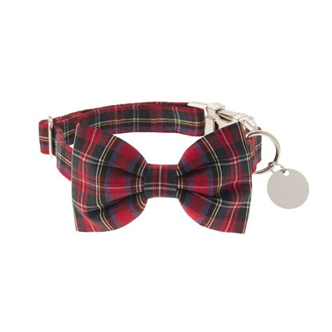 bow tie collars scotty bow tie collar by dober dasch notonthehighstreet