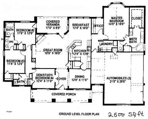 country house plan with 1558 square feet and 3 bedrooms house plan fresh 3000 sqft 2 story house pla hirota