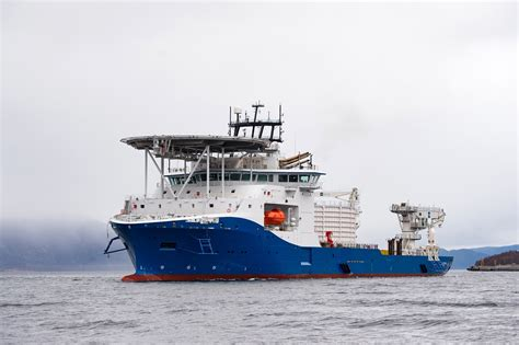Paint Design by Kleven Delivers Cable Layer To Nkt Subsea World News