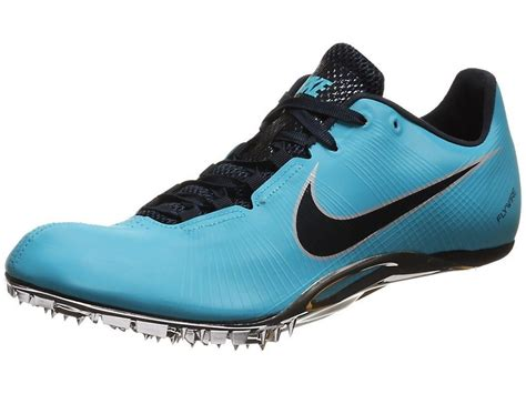100m running shoes nike zoom ja fly gamma blue best track sprint spikes