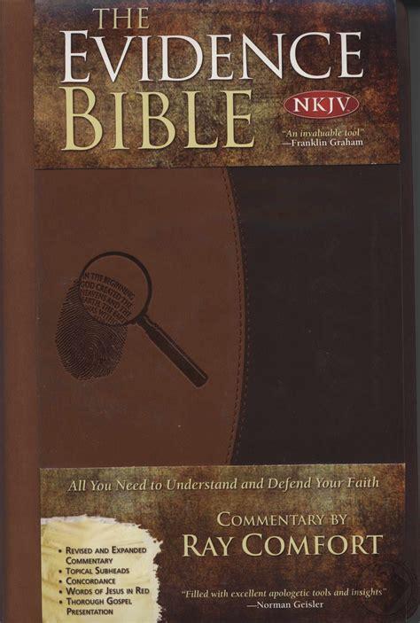 ray comfort evidence bible the evidence bible new king james version nkjv all you
