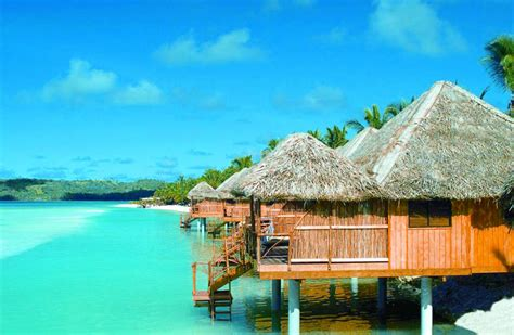 bungalow overwater in fiji islands yfgt cook island bungalow over water