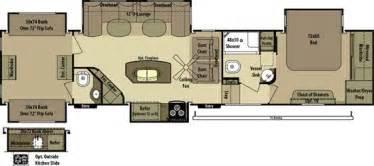 2 bedroom rv floor plans 2 bedroom fifth wheel floorplans search cer floor plans open range