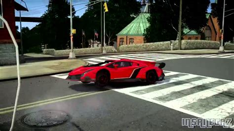 crashed lamborghini veneno grand theft auto iv 2013 lamborghini veneno crash testing