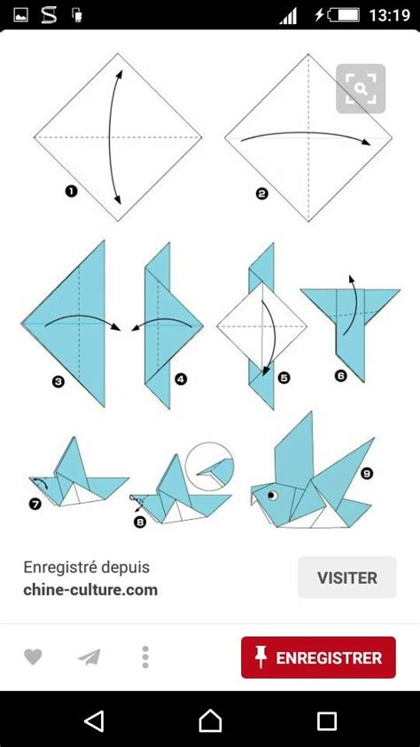 Origami Bird Directions - 10288 best pigeons images on pigeon diving