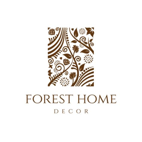 forest home decor logo design gallery inspiration logomix