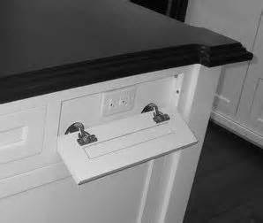 Kitchen Island Electrical Outlets This Outlet Is A Must Have On The Island Bathroom