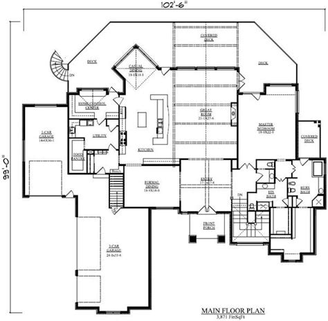 one storey house plans with basement house plans and design house plans single story with basement
