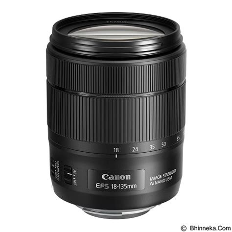 Lensa Canon 18 135mm F 3 5 5 6 Is jual canon ef s 18 135mm f 3 5 5 6 is nano usm murah bhinneka