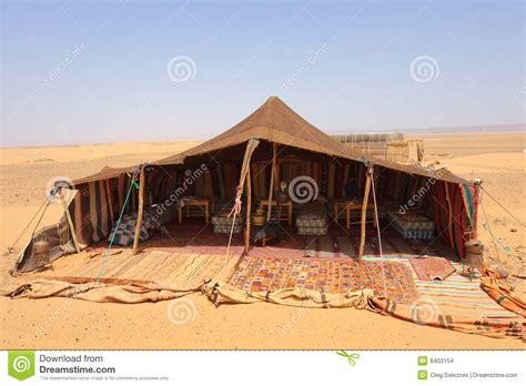 tenda dei beduini accamento deserto fotografia stock immagine di