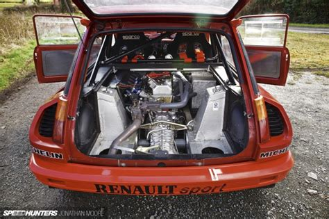 renault 5 engine five alive the volcanic hatch speedhunters