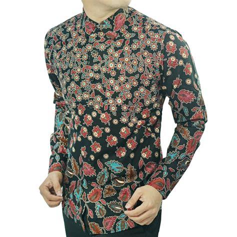 Baju Batik Km 653 jual baju batik pria slim fit d123 toko lina batik distro ukmmarket