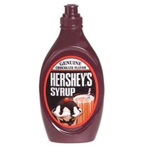how does chocolate syrup last shelf storage