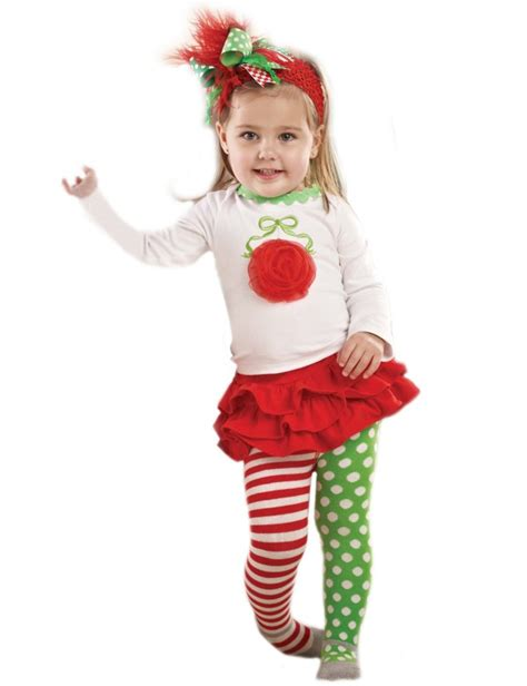mud pie baby girls infant clothing for christmas on