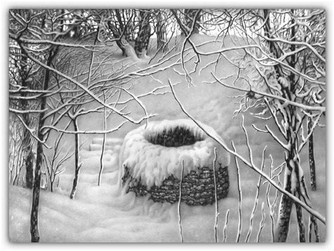imagenes a lapiz de navidad dibujos hechos lapiz nieve navidad 46