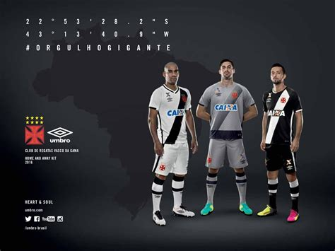 vasco gama umbro vasco da gama 2016 17 kits released footy headlines