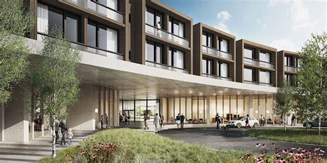 designboom hospital herzog de meuron chosen to build low rise hospital in